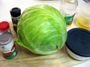 I will never look at cabbage the same again.