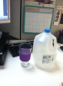 My gallon today -- as I was writing this post actually!