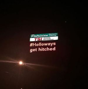 holloways-get-hitched-sign