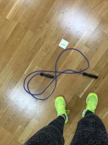 Morning circuit training