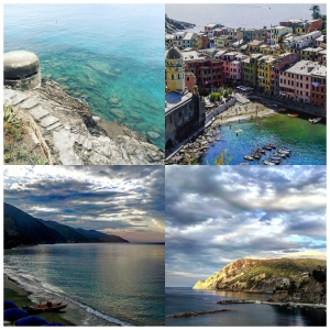 Monterosso al Mare - The Mediterranean Sea, cliff diving and hiking views.